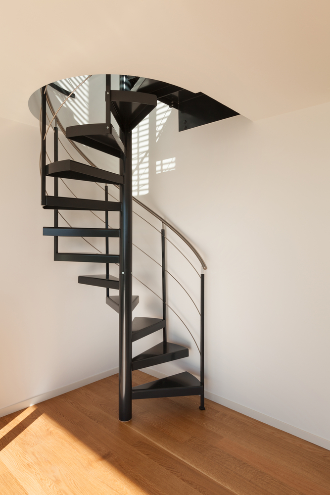 Spiral Staircases For Small Spaces