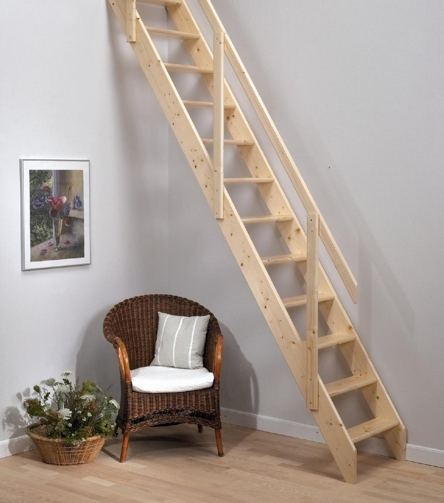 Review of the Dolle Madrid Wooden Space Saving Staircase Kit