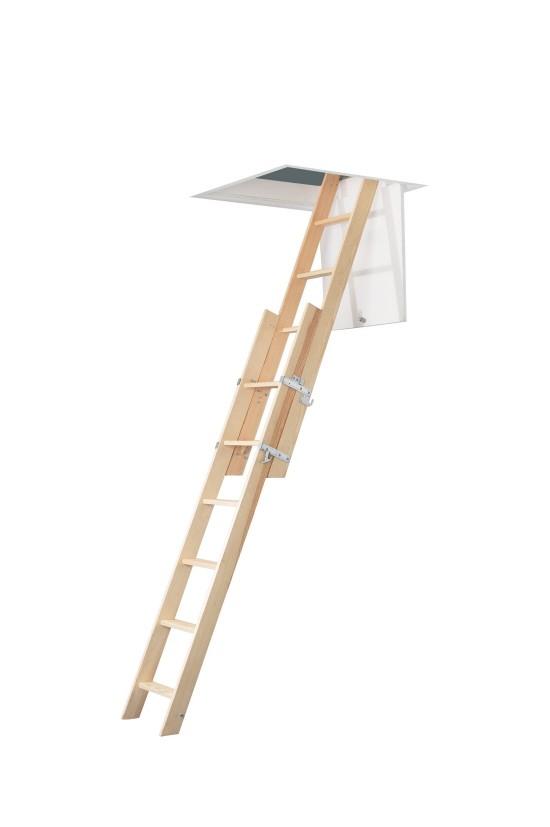Product Feature: Abru Werner 2 Section Wooden Sliding Loft Ladder