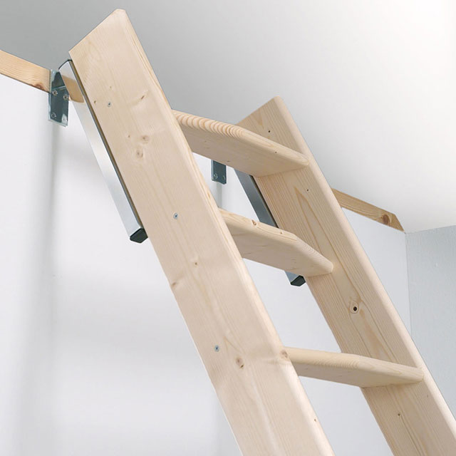 Madrid Wooden Space Saver Staircase Kit Loft Stair